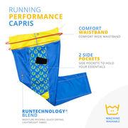 Running Performance Capris - Run 26.2 Wreath