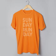 Running Short Sleeve T-Shirt - Sunday Runday (Stacked)