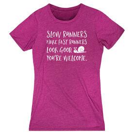 Women's Everyday Runners Tee - Slow Runners
