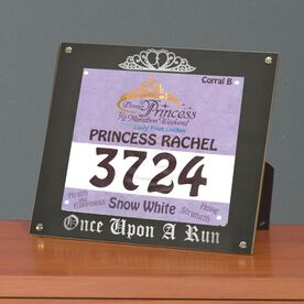 BibDISPLAY - Runners Race Bib Frame - Once Upon a Run