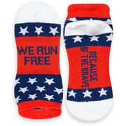 Socrates® Woven Performance Sock - We Run Free