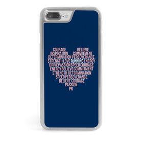 Running iPhone® Case - Inspiration Heart