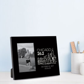 Running Photo Frame - Chicago 26.2