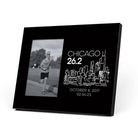 Running Photo Frame - Chicago 26.2 Marathon