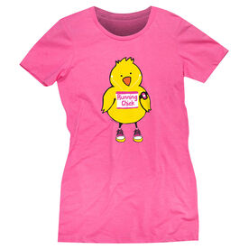 Easter gifts gone for a run womens everyday runners tee running chick tall negle Choice Image