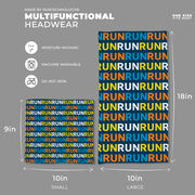 Running Multifunctional Headwear - Run Pattern RokBAND