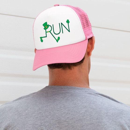 Running Trucker Hat - Let's Run Lucky