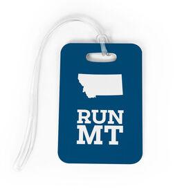 Bag/Luggage Tag Montana State Runner