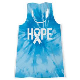 Women's Performance Tank Top - Hope Tie-Dye