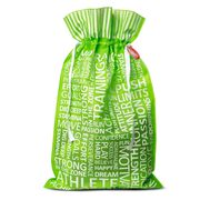 Green Reusable Gift Bag