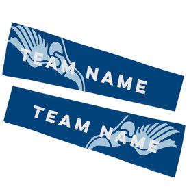 Track & Field Printed Arm Sleeves - Track Team Name
