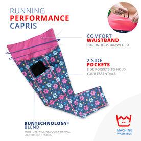 Running Performance Capris - Never Run Alone