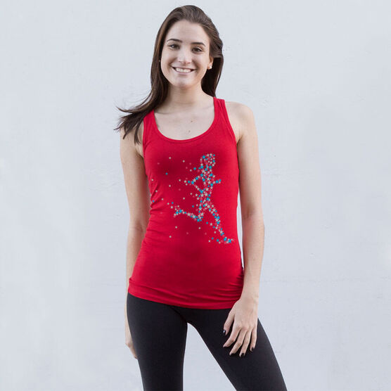 Running Women's Athletic Tank Top - Star Girl