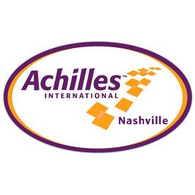 Car Magnet - Achilles International-Nashville Logo