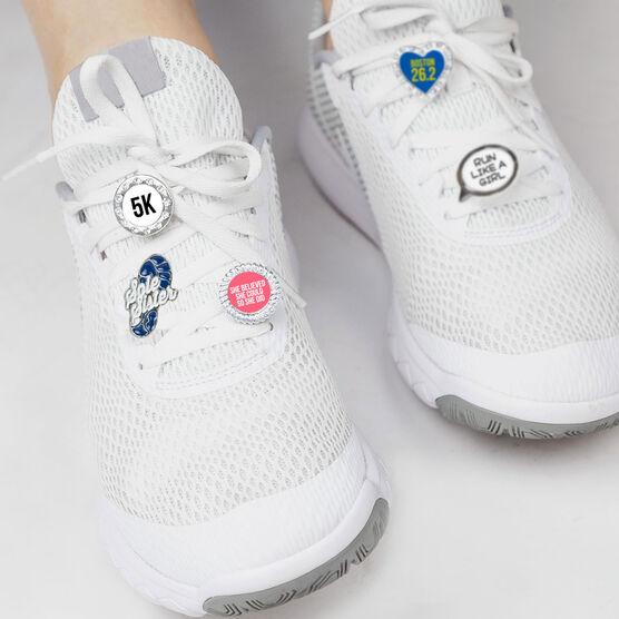 Running Shoelace Charm - 5K