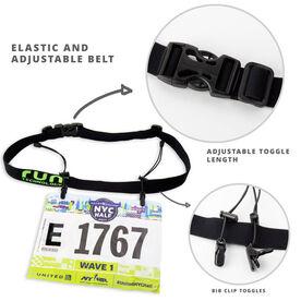Race Bib Belt for Runners/Triathletes