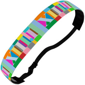 Running Julibands No-Slip Headbands - 13.1 Roman Numeral (MULTI)