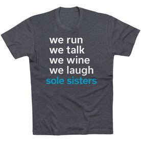 Running Short Sleeve T-Shirt - Sole Sisters Mantra