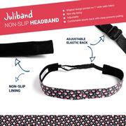 Running Juliband Non-Slip Headband - Wine Time
