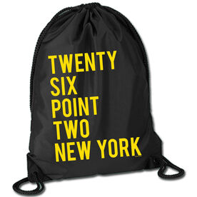 Running Sport Pack Cinch Sack Twenty Six Point Two New York