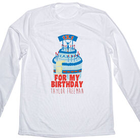 Men's Running Customized Long Sleeve Tech Tee For My Birthday 13.1