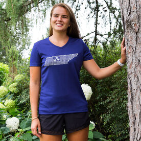 Women's Running Short Sleeve Tech Tee Tennessee State Runner