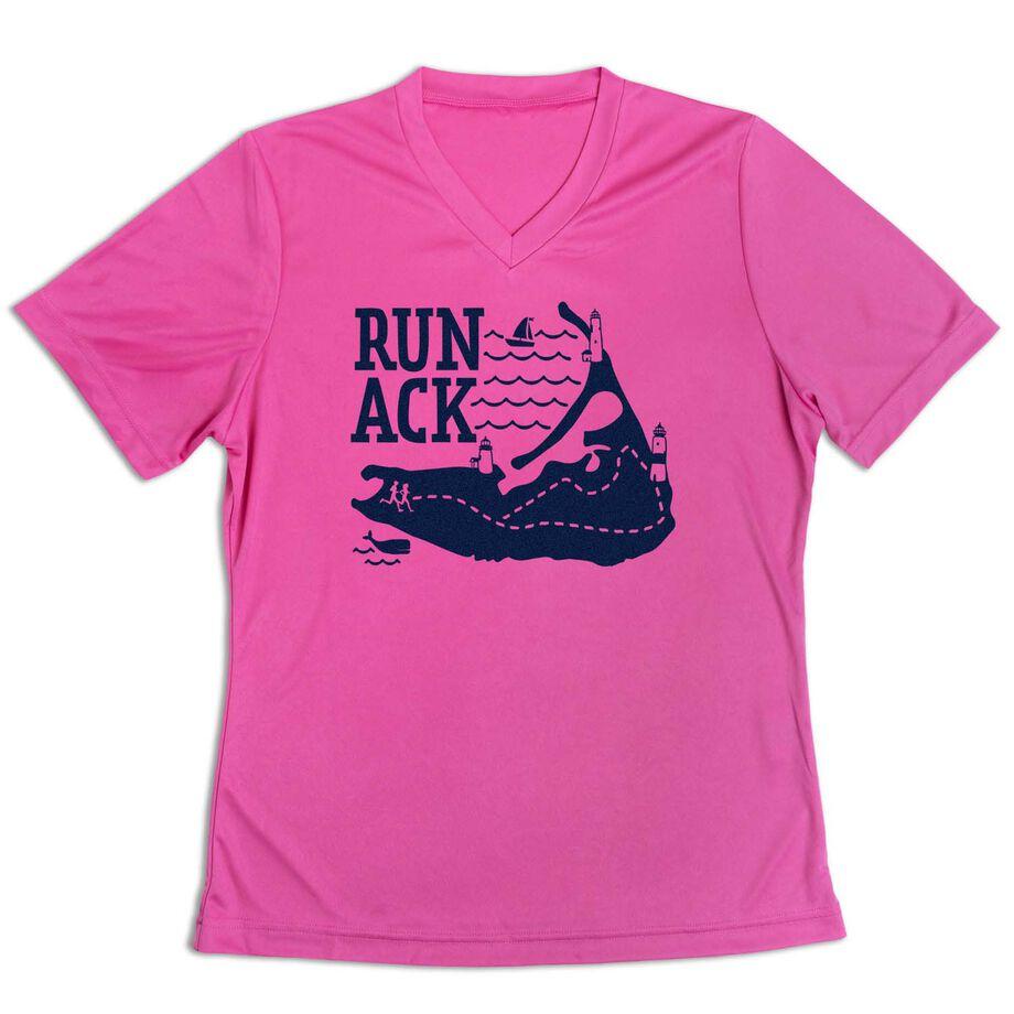 Women's Short Sleeve Tech Tee - Run ACK