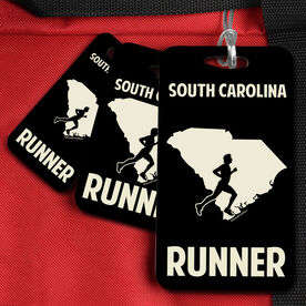 Bag/Luggage Tag South Carolina State Runner Male