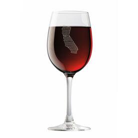 Wine Glass California State Runner