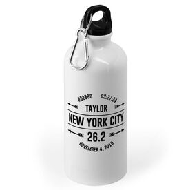 Running 20 oz. Stainless Steel Water Bottle - Custom Race Basic