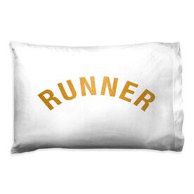 Running Pillow Case - Runner Arc