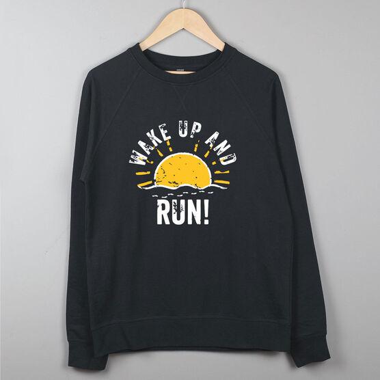 1fb9b98fad Running Raglan Crew Neck Sweatshirt - Wake Up And Run | Gone For a Run