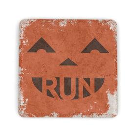 Running Stone Coaster Pumpkin Run