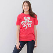 Running Short Sleeve T-Shirt - Kiss A Lucky Runner