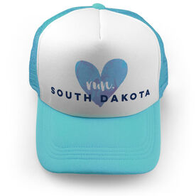 Running Trucker Hat Run South Dakota