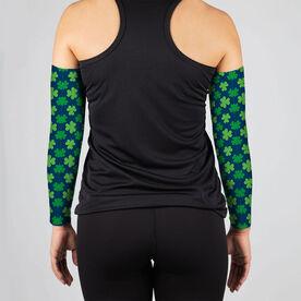 Printed Arm Sleeves - Clovers