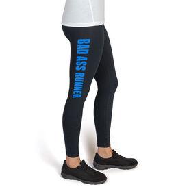 Runner's High Print Leggings Bad Ass Runner