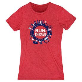 Women's Everyday Runners Tee - Run For Chicago