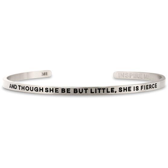 InspireME Cuff Bracelet - She Is Fierce