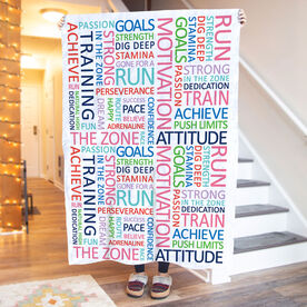 Running Premium Blanket - Motivation