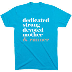 Running Short Sleeve T-Shirt - Run Mantra Mother Runner