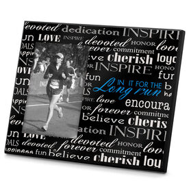 Running Photo Frame In It For The Long Run