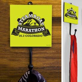 Medal Hook Steamboat Marathon Artwork 2014