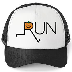 Running Trucker Hat - Let's Run Like Jack