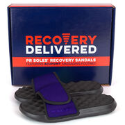 PR SOLES® Premier Adjustable Strap Recovery Slide Sandal