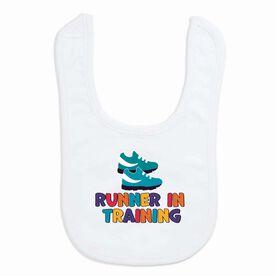 Running Baby Bib - Runner in Training