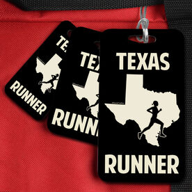 Bag/Luggage Tag Texas State Runner Female