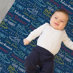 Running Baby Blanket - Future Runner
