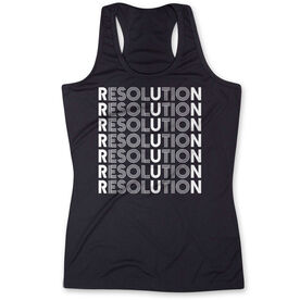 Women's Performance Tank Top - Resolution Run