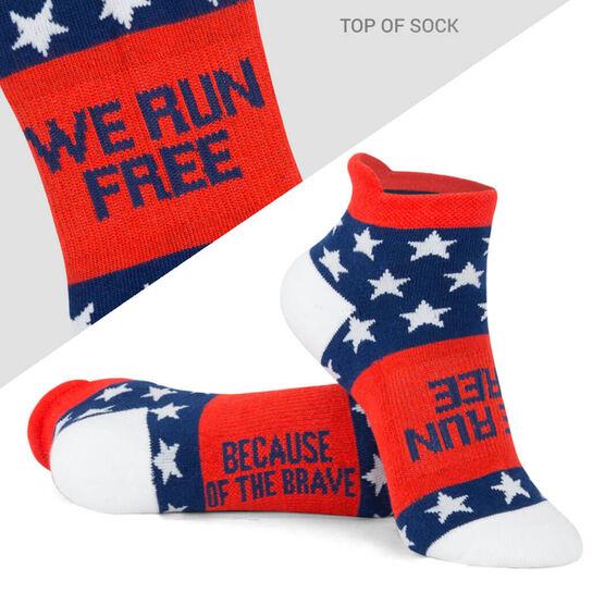 Socrates® Woven Performance Sock - We Run Free
